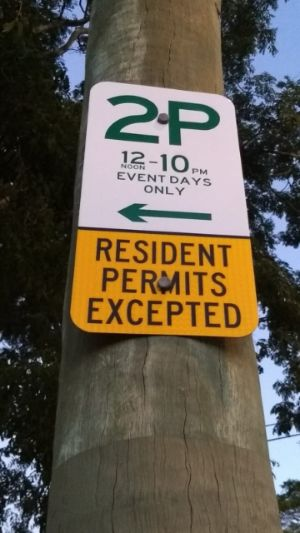 Parking Signs near Suncorp Example1