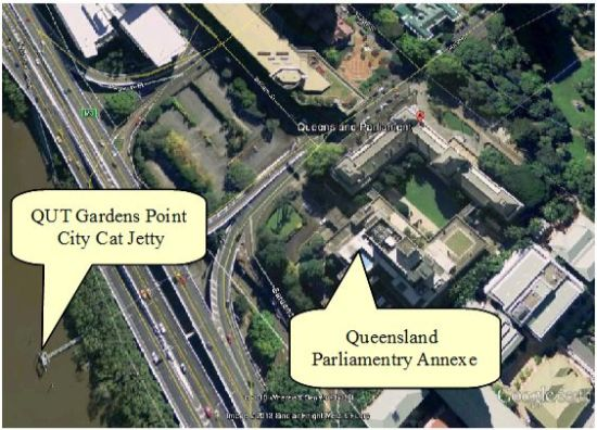 Location of National Day of Prayer -Parliamentary Annexe