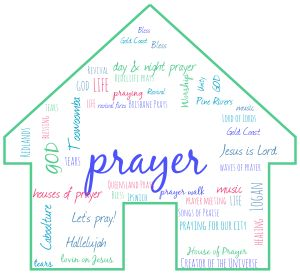 Wordcloud_Prayer House